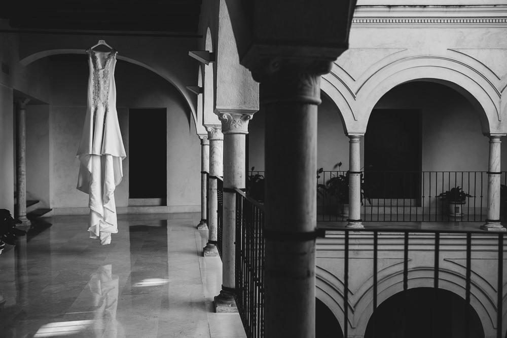 Blanca Quiroga. Boda en hotel Rievera de Triana. Sevilla