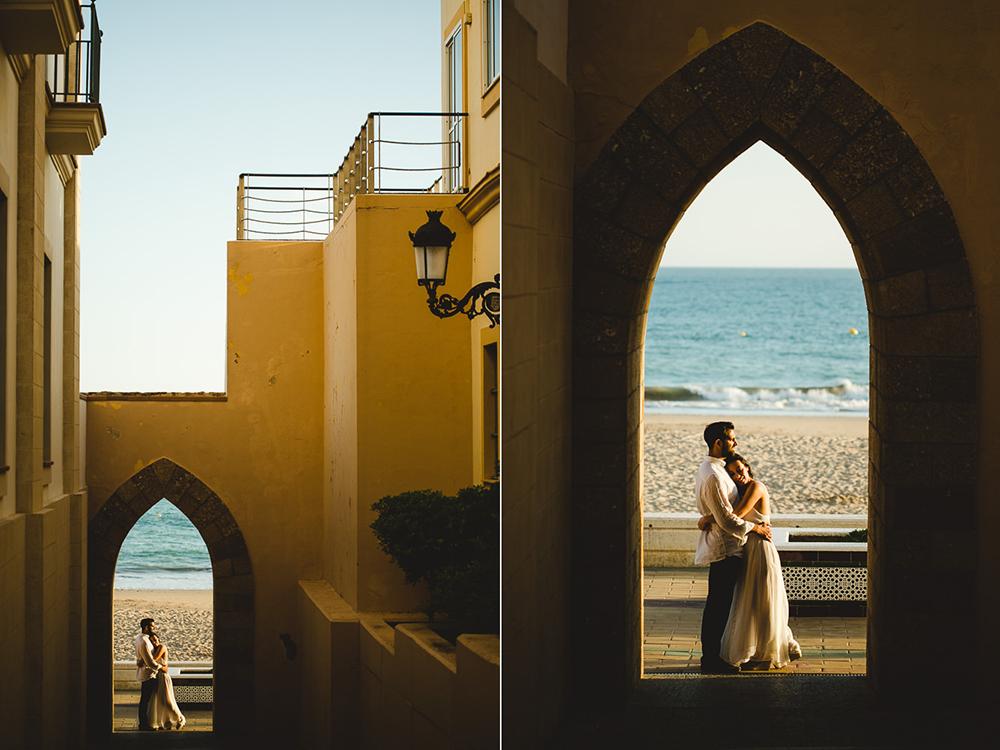 Blancaquiroga. Fotografia de boda en cadiz. Preboda en Rota.