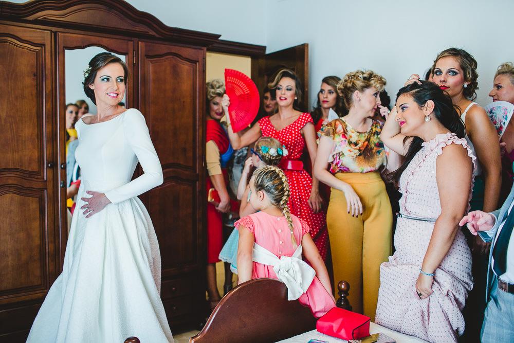 Blanca Quiroga. Boda hacienda los molinos de maestre en Sevilla.