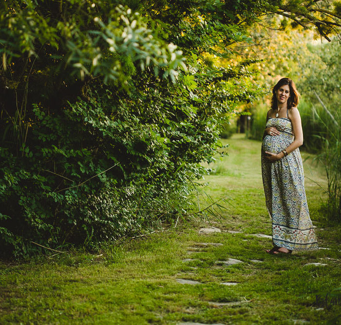 Fotografía de embarazo en Sevilla. Esperando a Celia.