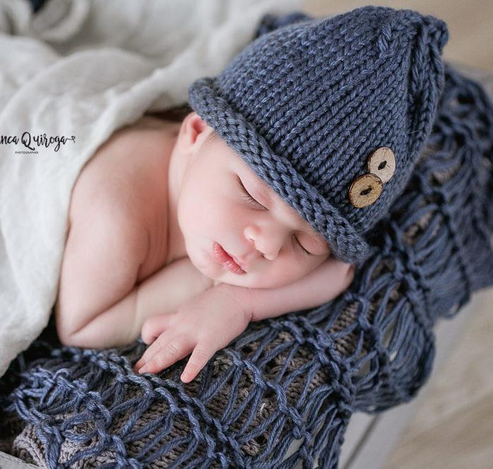 Fotografía de recién nacido en Sevilla. New born Juan.