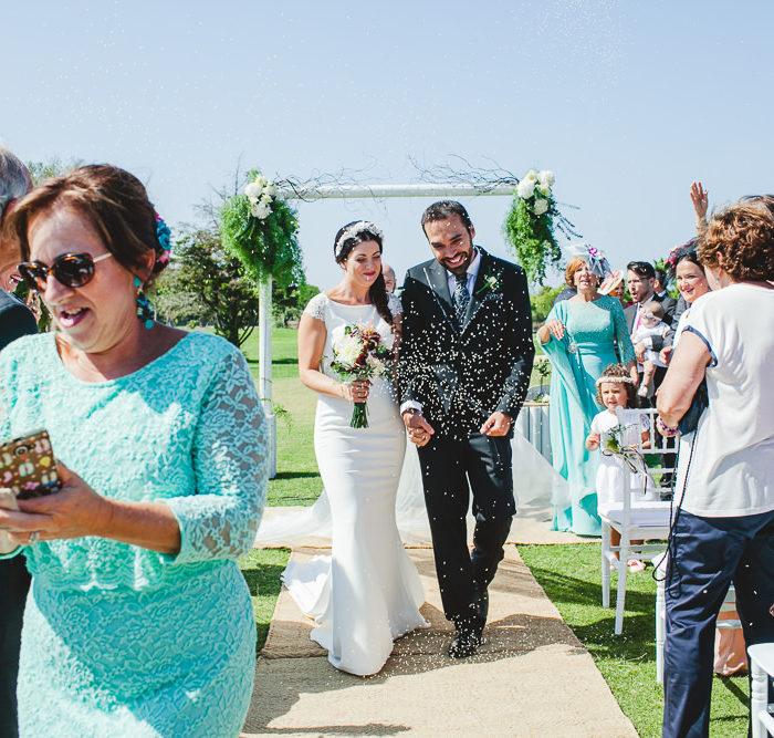 Teresa y Nacho. Previo boda en el Club de Golf de Sancti Pretri. Chiclana.
