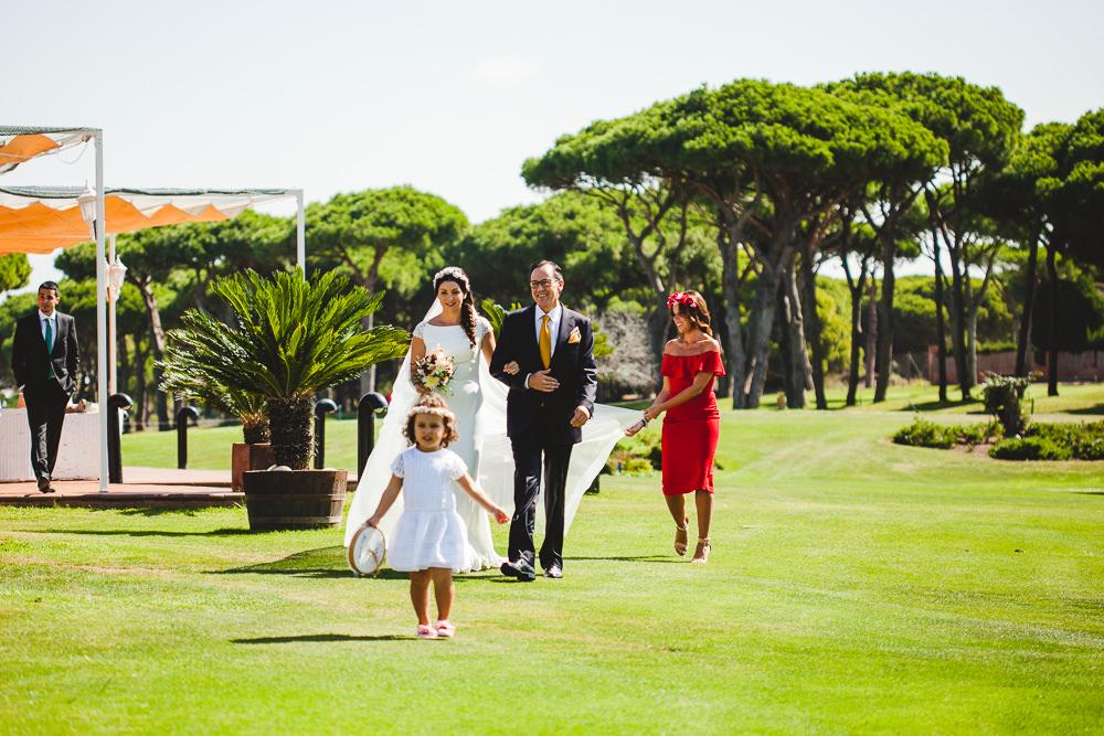 Blanca Quiroga. Fotografo boda Club de Golf Santic Petri. Chiclana