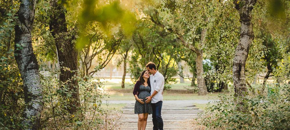 Fotografía de embarazo en Sevilla. Esperando a Sara.