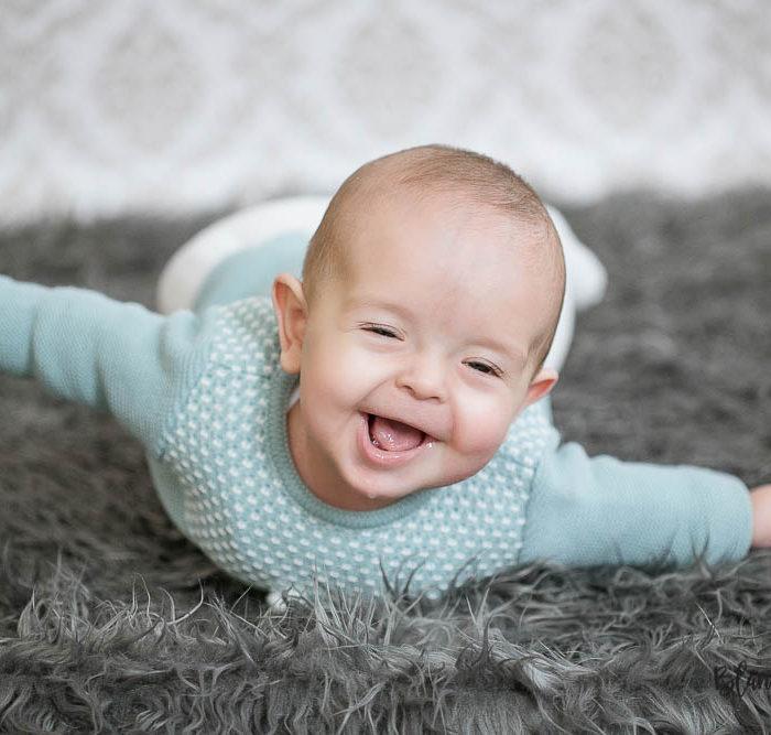 Fotografía de bebé en Sevilla. Pablo 5 meses.