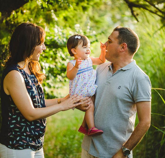 Fotografía infantil en Sevilla con un bebé de 11 meses.