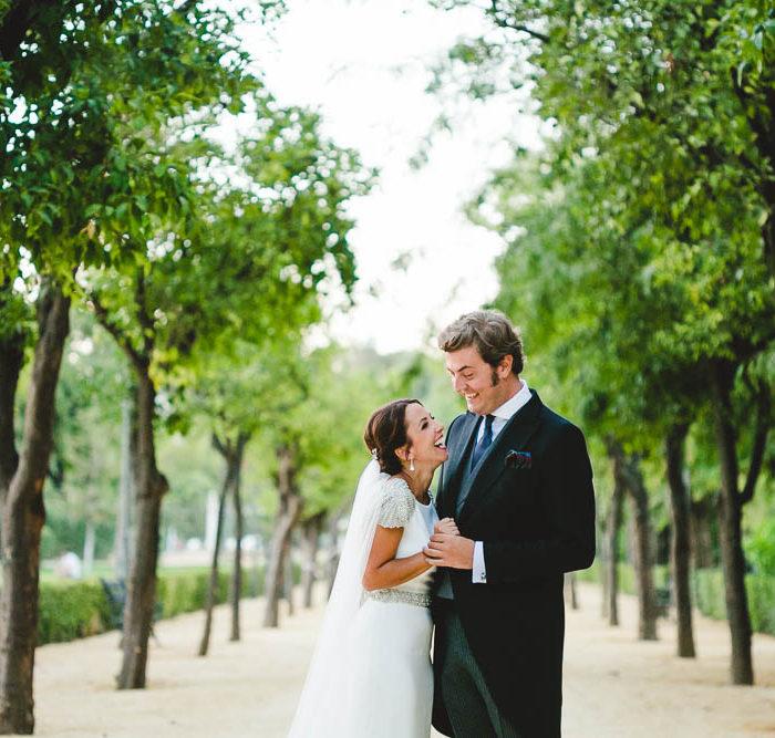 Fotografía de boda en La Casa del Estanque en Sevilla. Anyi + Alejandro.