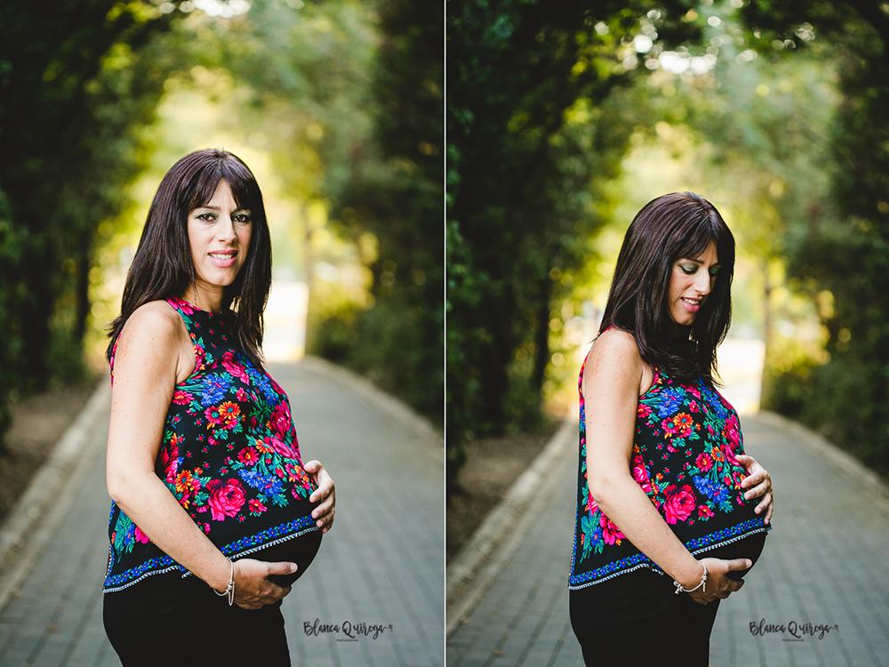 Blanca Quiroga. Fotografo de embarazo, premama en Sevilla