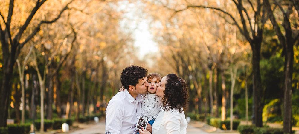 Fotografía infantil en Sevilla. Una tarde en el parque de Mª Luisa.