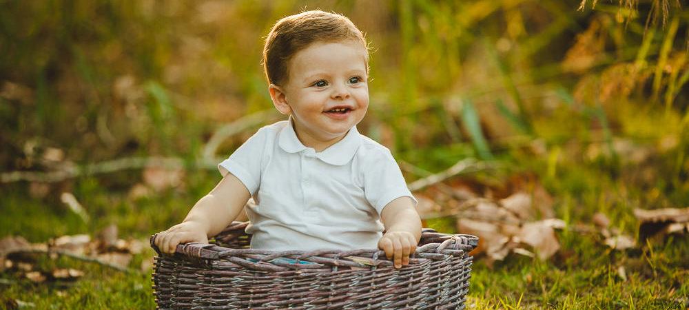 Fotografía infantil en Sevilla. Niño de 11 meses.