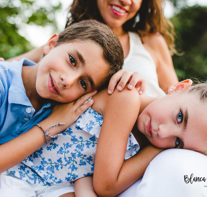 Fotografía infantil en el parque de Los Príncipes. Sevilla.