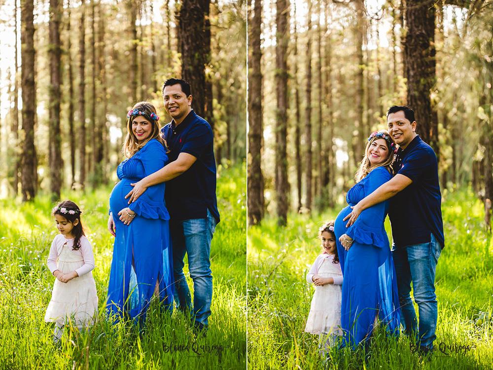 Blanca Quiroga. Fotografia embarazo, premama, familia en el campo. Sevilla