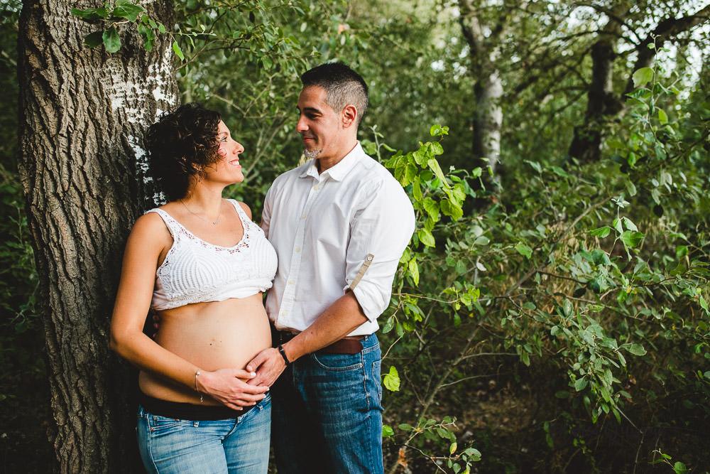 Blanca Quiroga. Fotografia premano, embarazo en sevilla